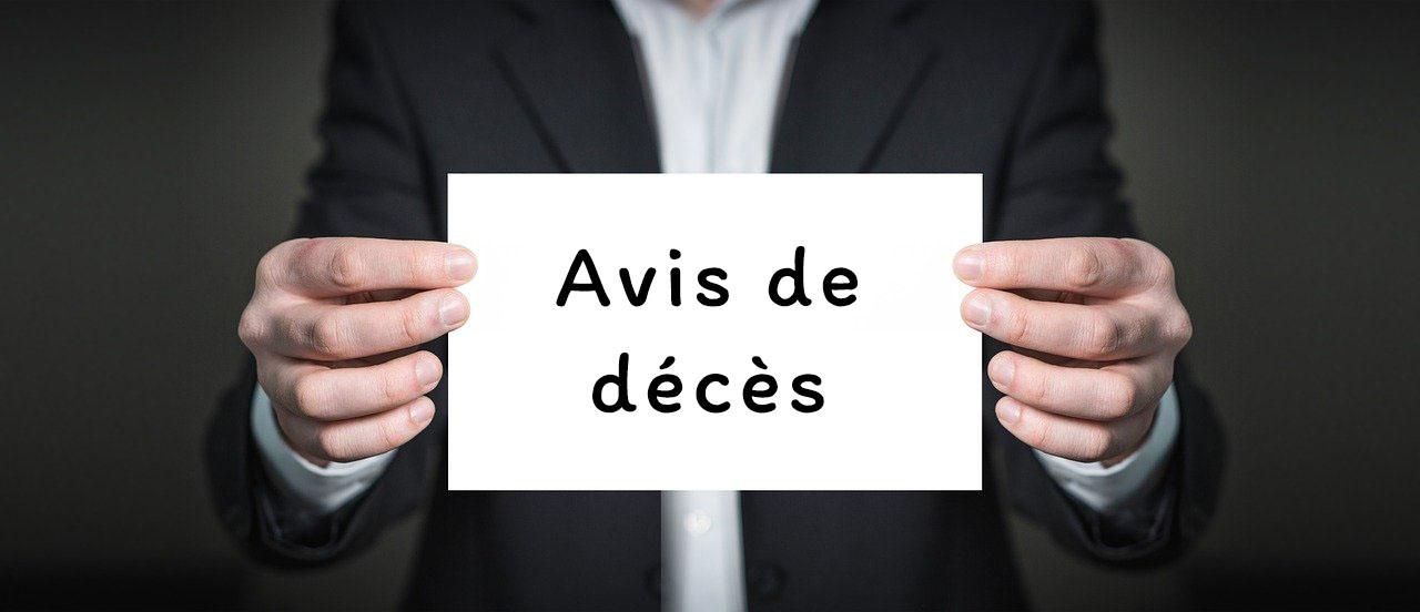 avis de décès mairie Seyssel
