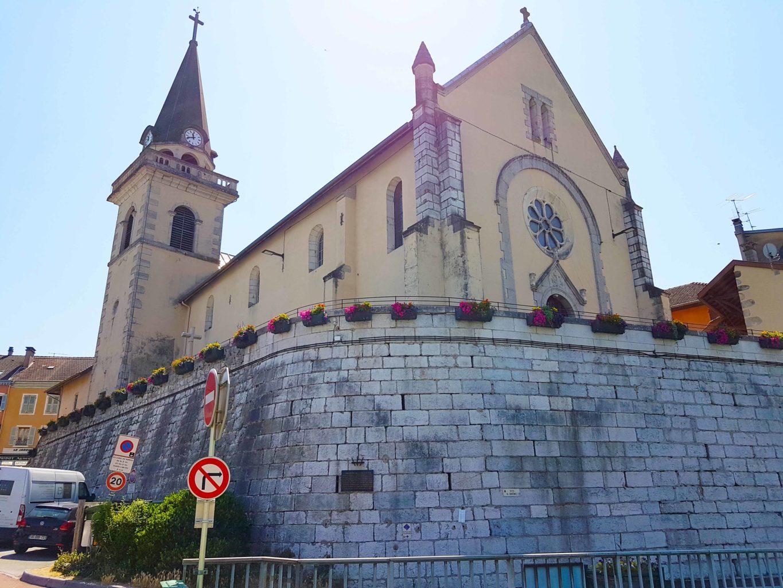 Église de Seyssel Haute Savoie