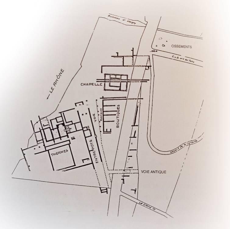La cité romaine de Condate
