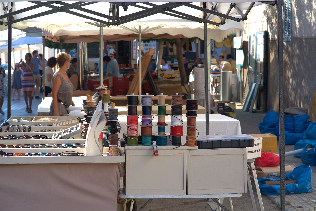 Le marché artisanal Seyssel