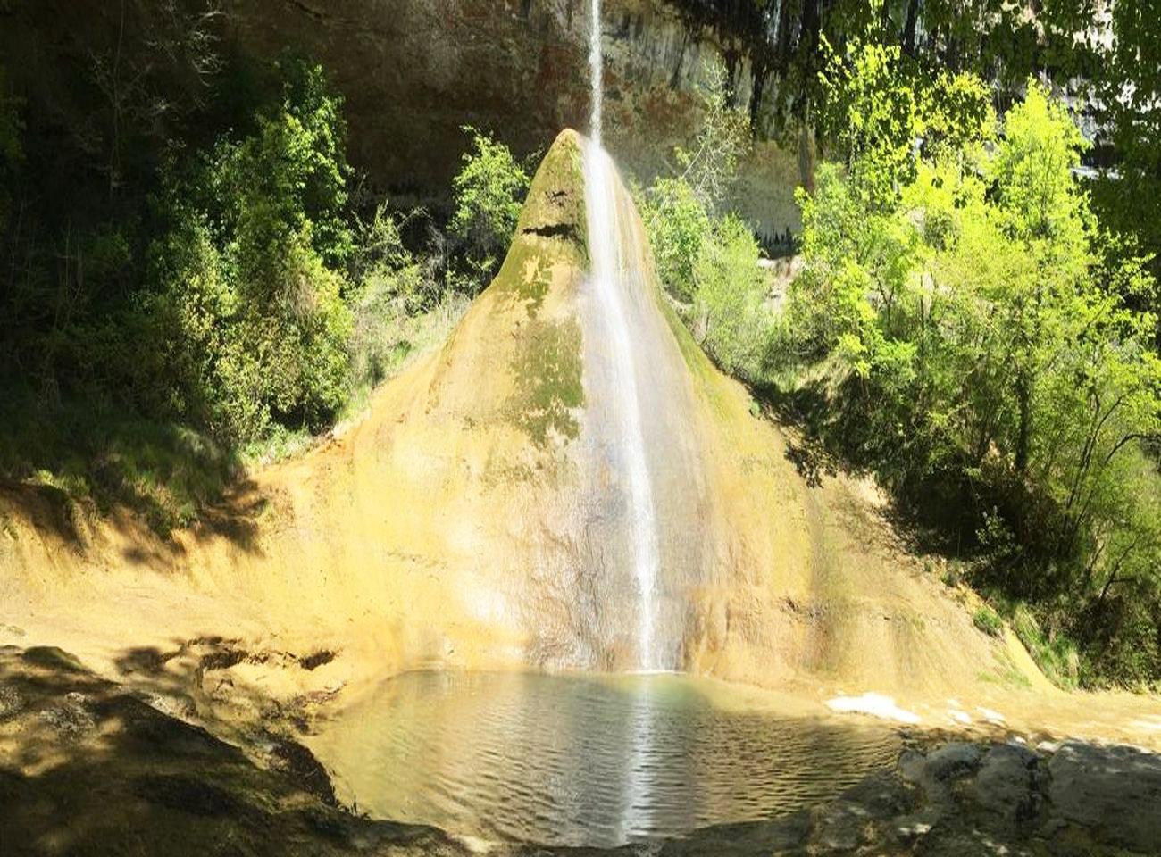 Randonnée VAE Cascade du Pain de Sucre