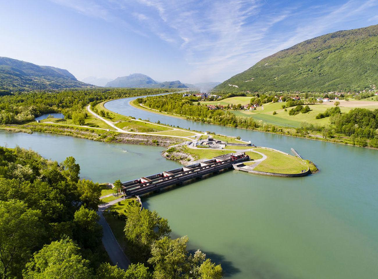 Randonnée VAE Les berges du Rhône
