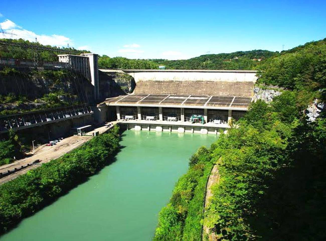 Randonnée VAE la boucle des barrages