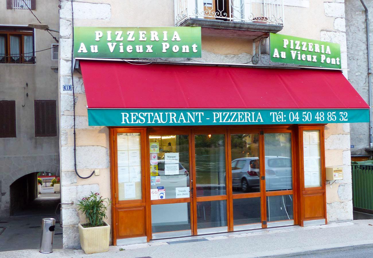 Restaurant pizzeria Au Vieux Pont