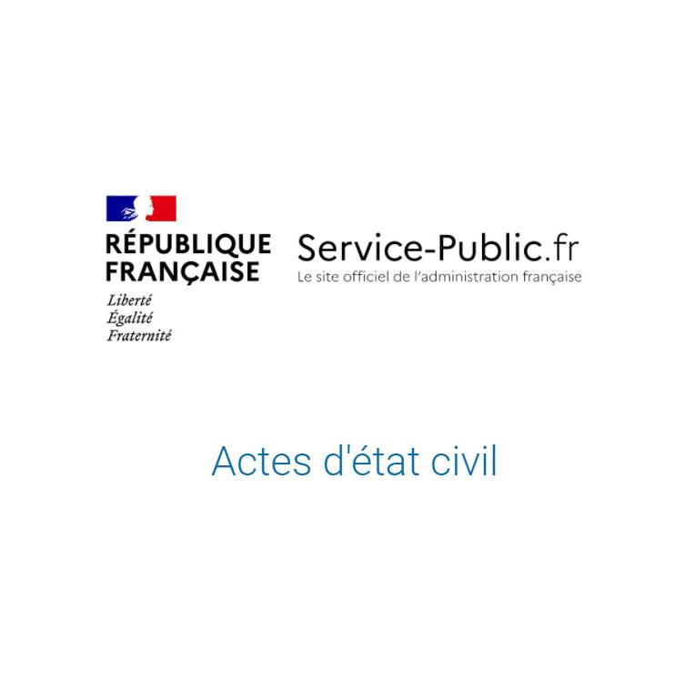 demande d'acte d'etait civil mairie seyssel