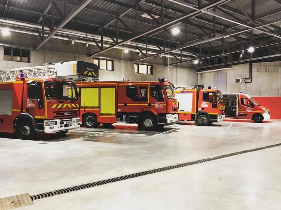 pompiers Seyssel mairie